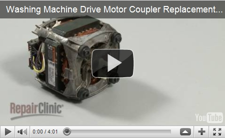 Appliance parts repair help videos maintenance information for How much is a washing machine motor